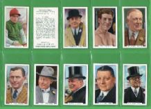 Cigarette cards Sporting Personalities, Boxing, Cricket
